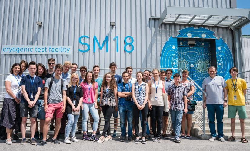Projektophold på CERN, efteråret2021